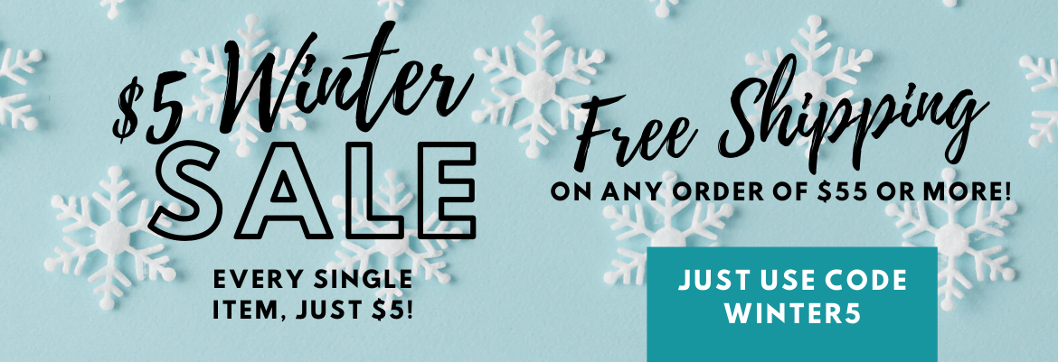 13 Deals $5 Winter Sale!
