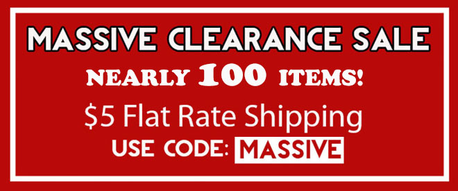 Massive Clearance Sale - 13 Deals