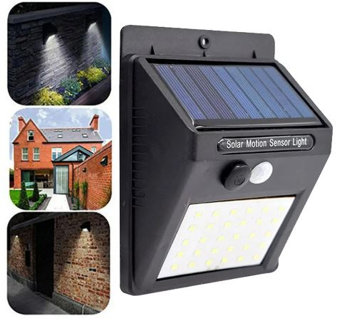 Solar Powered Motion Sensor Proof Light Indoor-Outdoor LED Light
