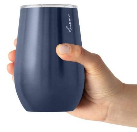 Rabbit Double Walled Stainless Steel Wine Tumbler $7.99 (reg $18)