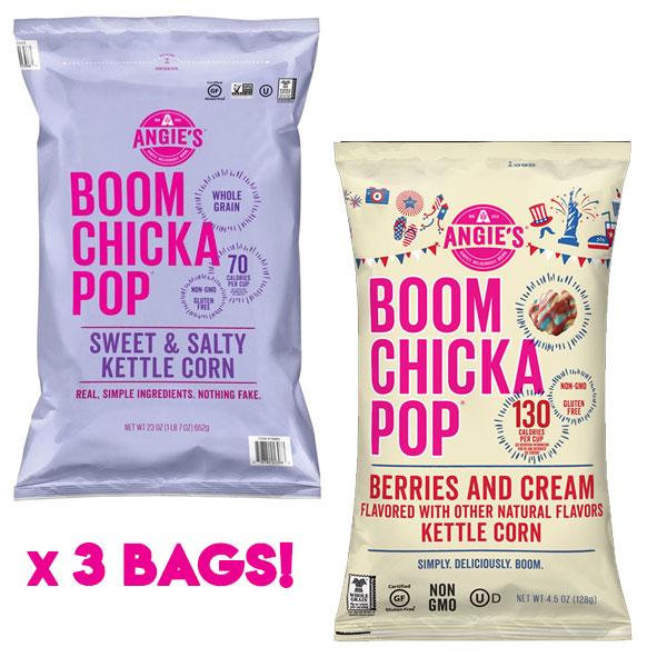 $8.99 (reg $15) 3 Bags of Boom...