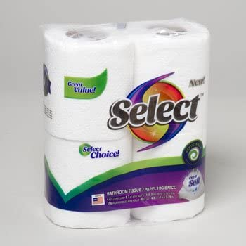 4 Rolls of Select Choice Extra...
