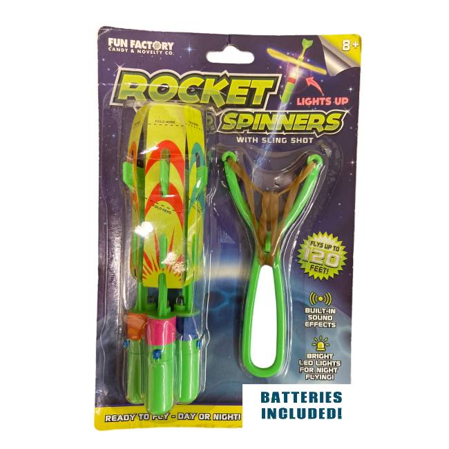 Slingshot LED Rocket Copters $...