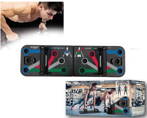 9 in 1 Push Up Board $29.99 (r...