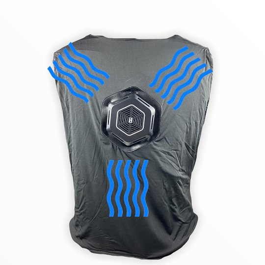 Thin Ice Moisture Wicking Thermo-Cool Cooling Vest