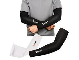 2-Pair UV Protection Cooling Anti-Slip Arm Sleeves