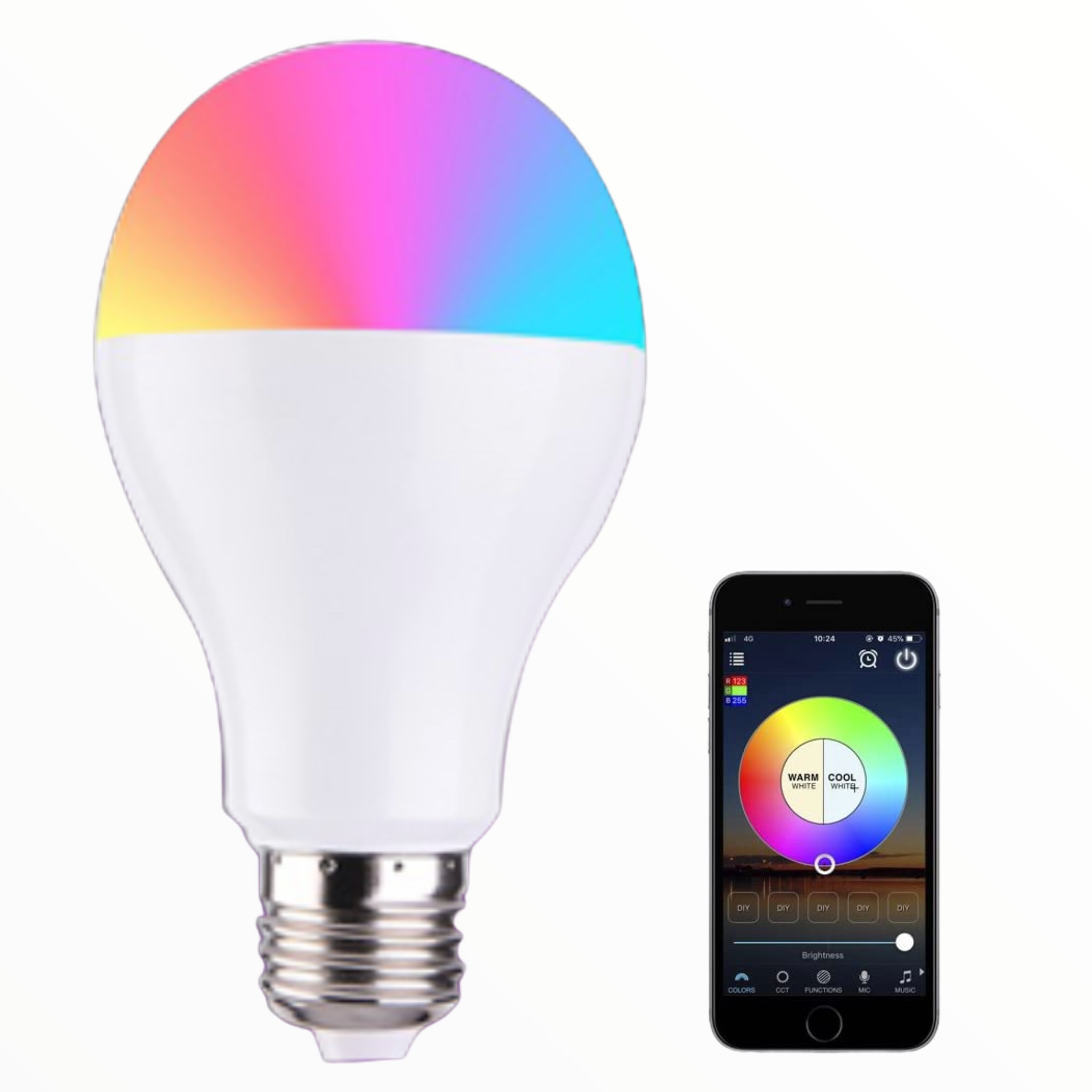 Smart WiFi Enabled LED Dimmabl...