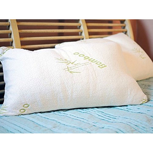 Aloe & Bamboo Memory Foam Hypoallergenic Pillow - Available In King and Queen - Limit 4 Per Household - SHIPS FREE!