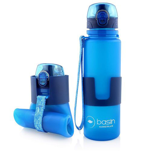 $5 (reg $20) Collapsible Flip Top Water Bottle