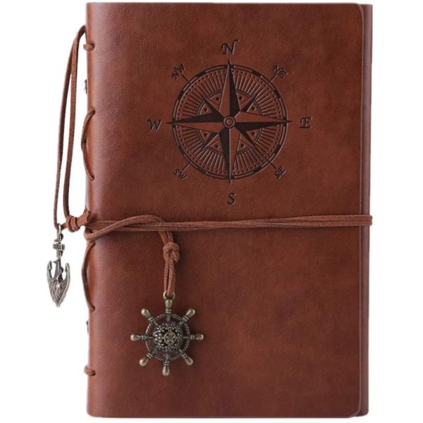 $9.99 (reg $25) Vintage Spiral Journal / Notebook