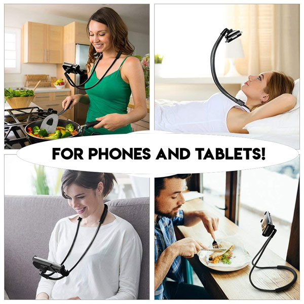Universal Phone / Tablet Hands Free Lazy Mount
