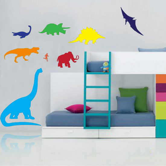 Large Dinosaur Wall Clings - SHIPS FREE!