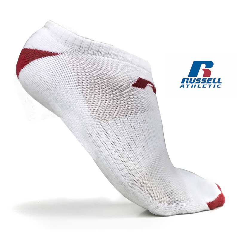 Pairs of Russell Athletic No-Show Socks
