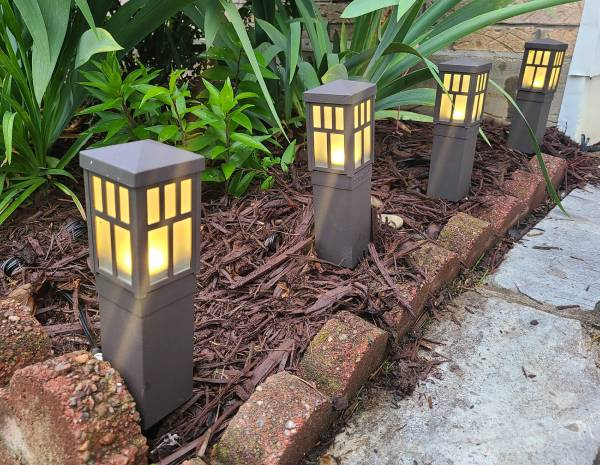 Duracell Oil Rubbed Bronze LED Pathway Low Voltage Lighting $17.99 (reg $50)