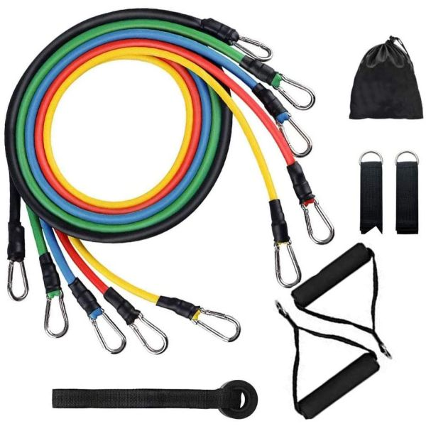 $24.99 (reg $40) 11 Piece Exercise Resistance Bands Set