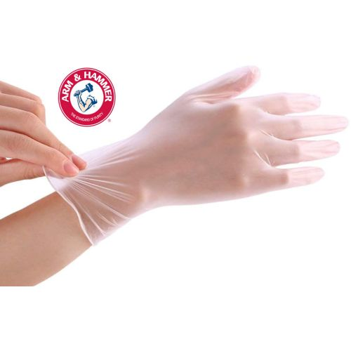 $11.95 (reg $15) 50 Arm & Hammer Latex Gloves