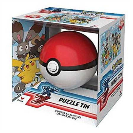 Pokemon Pokeball Poke Ball Sphere Puzzle Tin – 100 Piece Puzzle