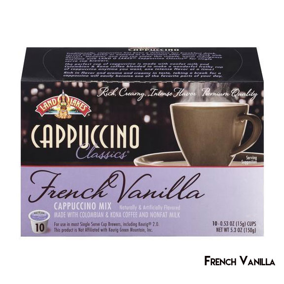 Land O Lakes Cappuccino Single Serve K Cups Choose Your