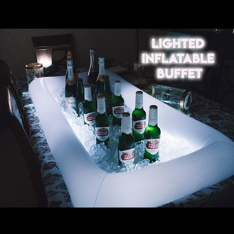 $14.99 (reg $34) Inflatable Illuminated Serving Buffet