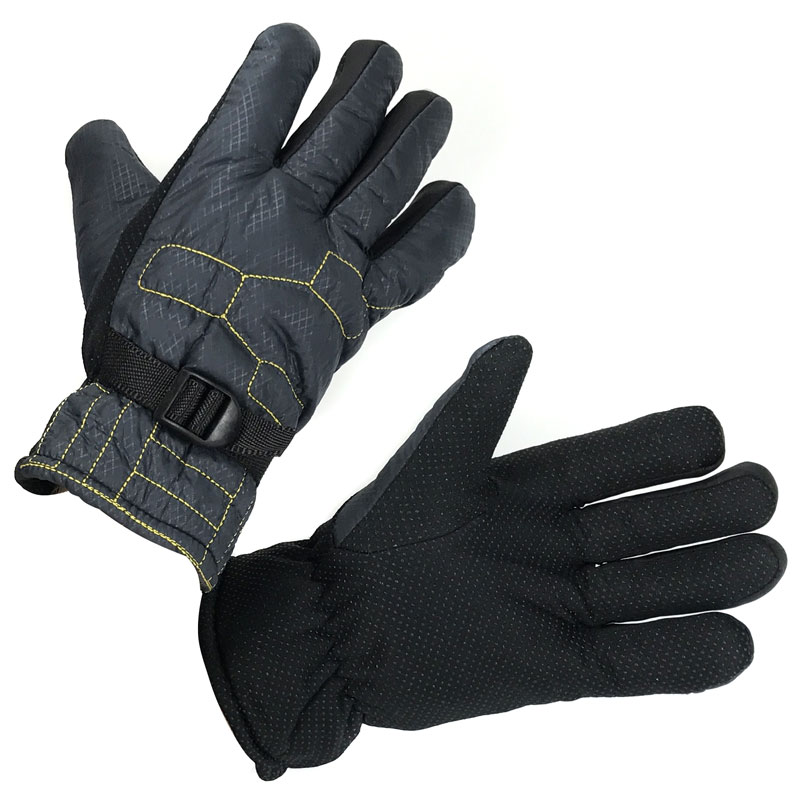Men's Water Resistant Winter Glove / Ski Gloves With Lining