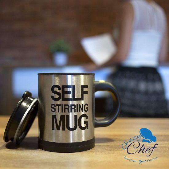 Self Stirring Stainless Steel.