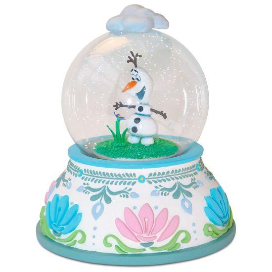 Disney Hallmark Summertime Snowman Olaf Collectible Snow