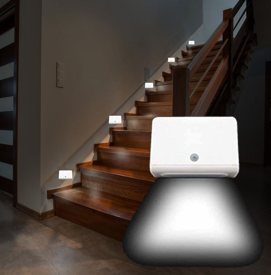 Wireless Hallway / Stair Motion Activated Path Light