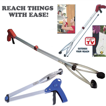 $5 DEAL! - 24 Inch Pick-Up and Reach Tool - Great to reach those things on the floor when you can\'t bend down, or up high when you can\'t reach it! One for $5.49 or 6 or more for 4.49 each! SHIPS FREE!