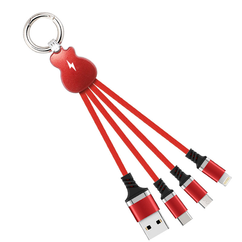 $7.99 (reg $18) Universal High Speed 3-IN-1 USB Keychain Style Charging Cable