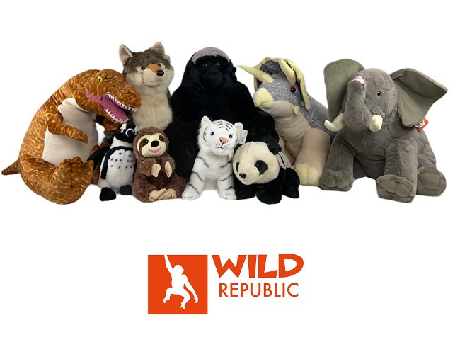 Wild Republic Plush Animal Collection