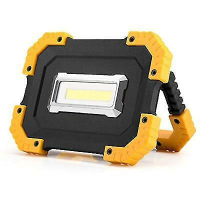 13Deals: Portable Rugged 2 Mode Ultra Bright 400 Lumen COB Work Light - Great for working, camping, fishing, emergencies and more! $7.49 SHIPS FREE!