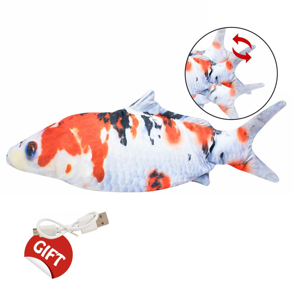 Realistic Electric Flopping Fish Cat Toy