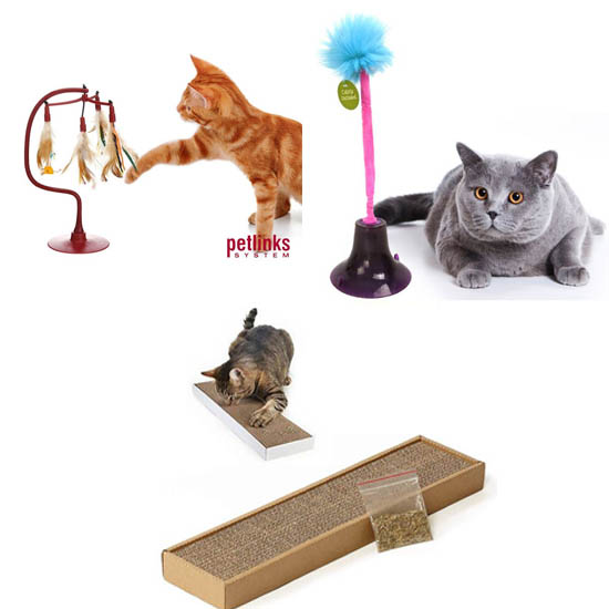 $11.97 (reg $30) Set of 3 Cat Toys