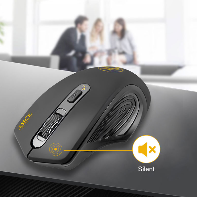 $9.99 (reg $34) NEW Wireless 'Silent Click' Ergonomic Computer Mouse