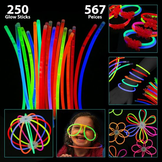 567 piece Glow stick set $17.9...