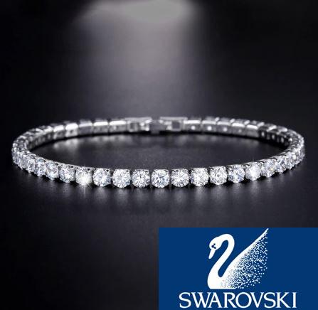 $34.99 (reg $120) Swarovski Crystal Tennis Bracelet