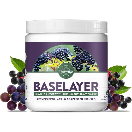 Truwild Baselayer Immune Support & Antioxidant Supplement