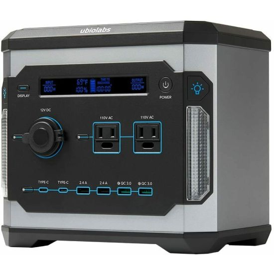 Ubio Labs 500Wh Portable Power Station Rechargeable Lithium Battery Pack $199.99 (reg $350)