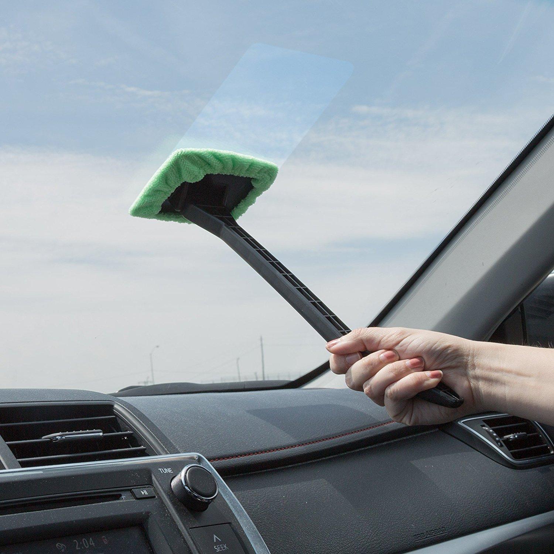 Good windshield cleaner round scrub brush